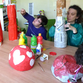photo of creative workshop