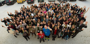 group photo at the international congress in vienna